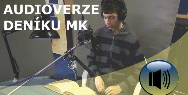 Knihu Michal Kraus Deník 1942 - 45 předčítá Adam Budař. Audiokniha bude k dispozici koncem měsíce dubna.