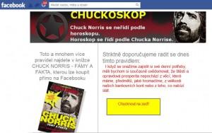 Chuckoskop - Chuck Norris se řídí podle svého horoskopu. Vy jej můžete následovat